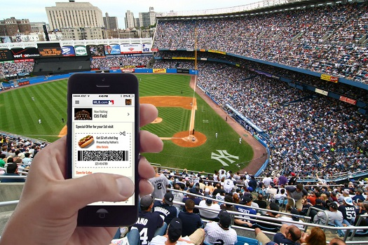 iBeacon-in-Stadium-MLB
