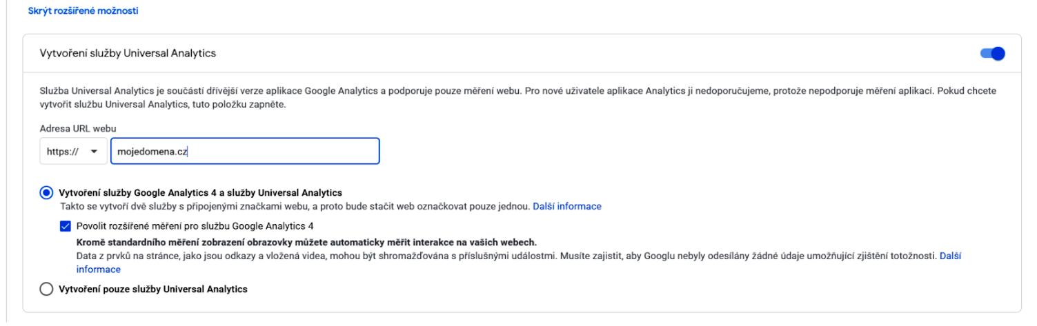 acomware-google-analytics-navod-registrace-rozsirene-moznosti-vyber