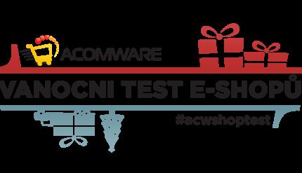 ACOMWARE vánoční test e-shopů 2016