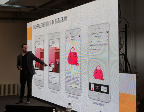 Daniel Kramer ukazuje, jak budou fungovat nákupy na Instagramu