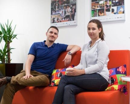 Vít Kališ a Lucie Koutníková, ACOMWARE