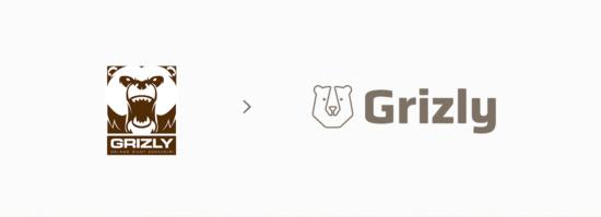 Grizly.cz ukázka loga po změně komunikační identity
