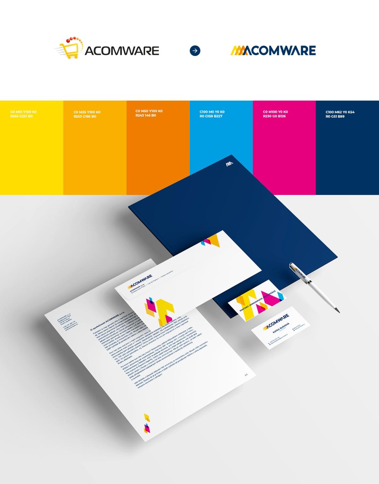 Acomware-agentura-rebranding-brand-barvy