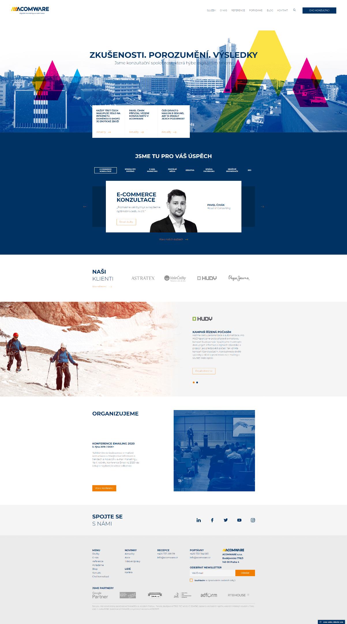 Acomware-agentura-ukazka-homepage