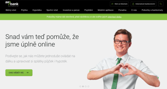 Acomware-blog-airbank-web-koronavirus-komunikace
