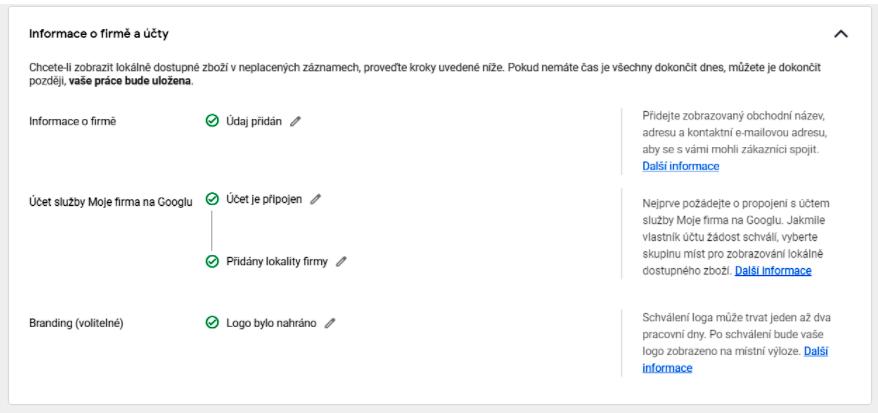 Acomware blog Google mistni neplacene zaznamy informace o firmě